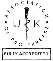 Full APDOT UK accreditation for safe and effective PDO thread Lift treatments